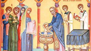Gli esorcismi al battesimo