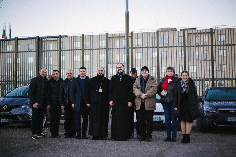 Bucuria Naşterii Domnului în închisoarea de la Viterbo