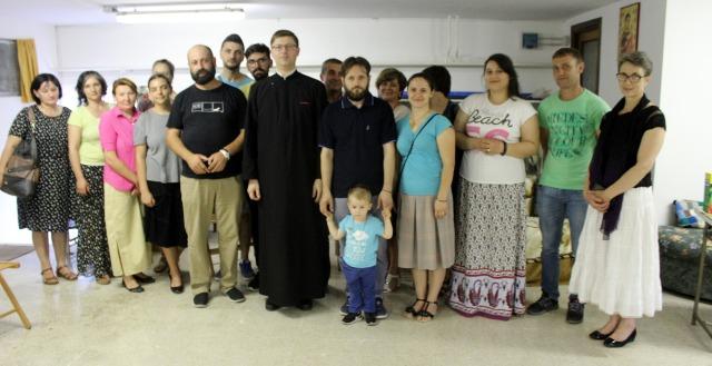 Întâlnirea cu voluntarii Diaconiei săraci și pribegi din Lazio