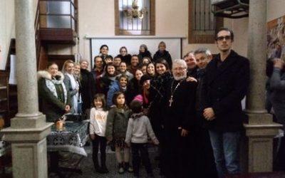 """Proiectul """"SALUTE SENZA FRONTIERE"""" – Alimentarsi in modo sano per prevenire i tumori"""" – Al doilea Seminar la Parohia Ortodoxă """"Sfinții Români"""" din Pavia"""