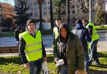 """Voluntarii Parohiei """"Nașterea Maicii Domnului"""" – Roma II"""