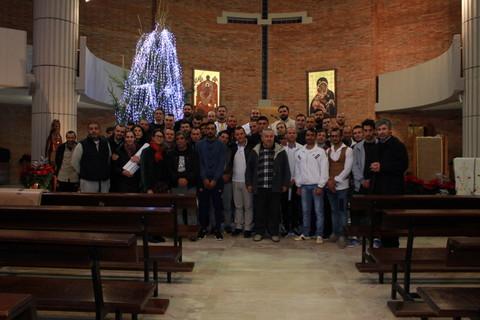 Nașterea Domnului în inimile celor întemnițați în Rebibbia (Roma) 2017