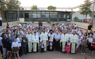"""PS Atanasie de Bogdania a binecuvântat terenul unde va fi ridicată noua biserică și un așezământ social în Parohia """"Sfânta Cuvioasă Melania Romana"""" din Ragusa (Sicilia)"""
