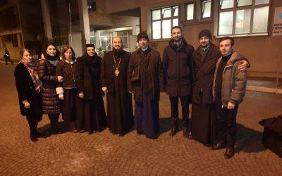 Preasfințitul Atanasie a purtat bucuria Nașterii Mântuitorului la Rebibbia din Roma