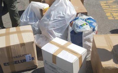 Parohia Carrara a trimis ajutoare în România