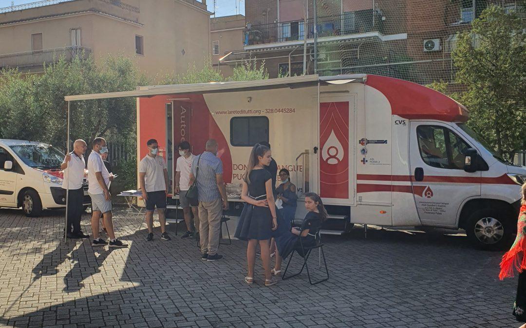 """Donare de sânge în Parohia """"Zămislirea Maicii Domnului"""" din Roma"""